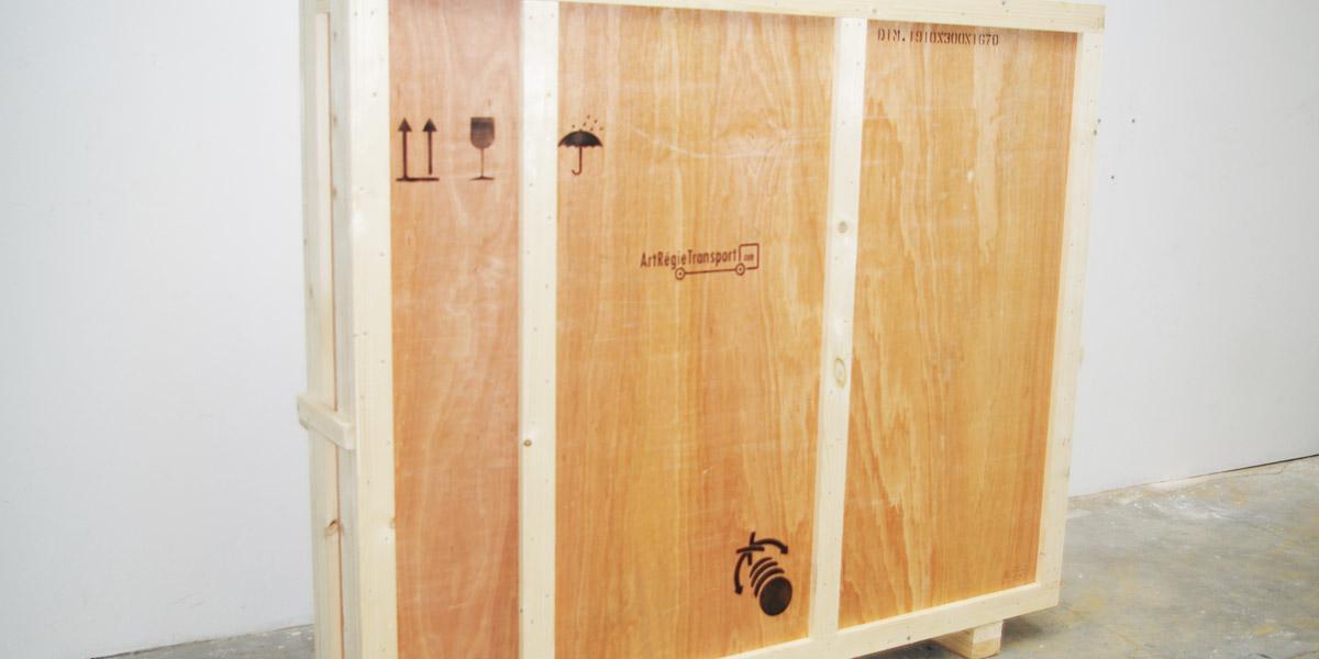 Art régie transport : emballage objets d'art